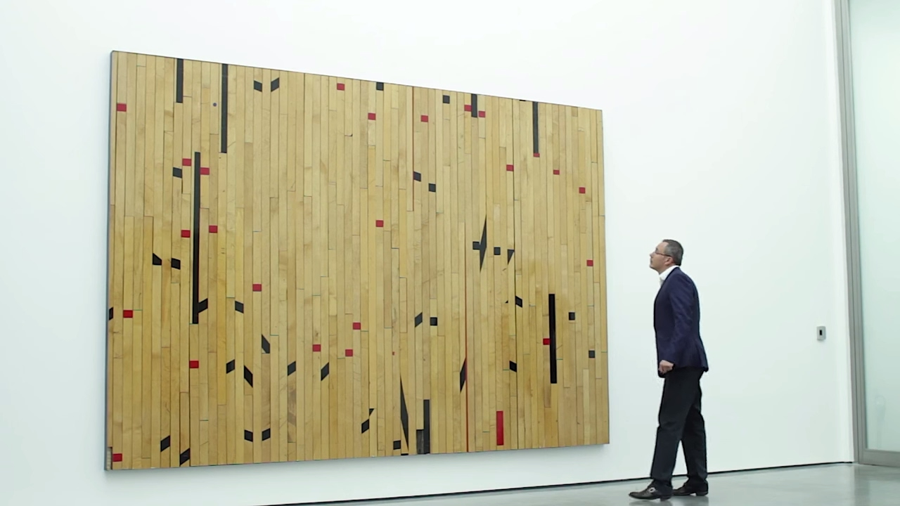 Theaster Gates at White Cube on The Art Channel - YouTube