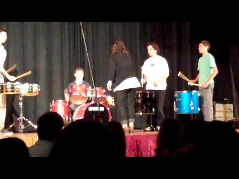 """A Little Night Music"" Percussion Ensemble 2011"