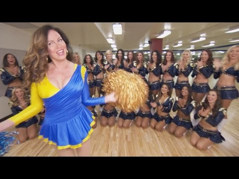 Reporter Returns To Los Angeles Rams Cheerleading Team 30 Years Later