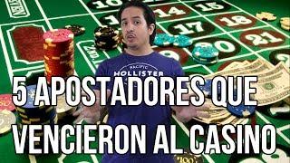 5 apostadores que vencieron al casino YouTube Videos