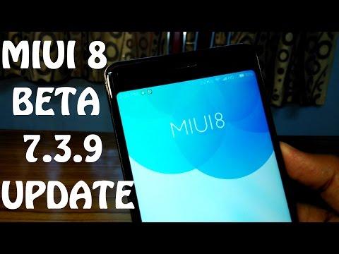 Miui 8 Global Beta Update 7.3.9 | Hindi