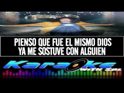 """Karaoke   """"Y Sin Embargo"""" - Fausto Miño  (AUDIO)"""