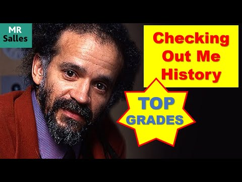 Checking Out Me History Analysis Grade 9