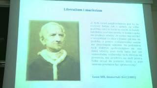 """Referat """"Liberalizm, ekonomia i Nauka Społeczna Kościoła"""""""