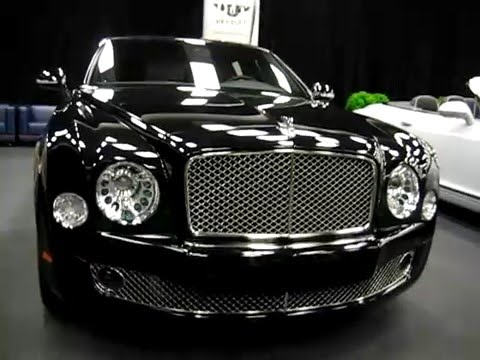 2012 Bentley Mulsanne At Montreal Auto Show 2011 Youtube