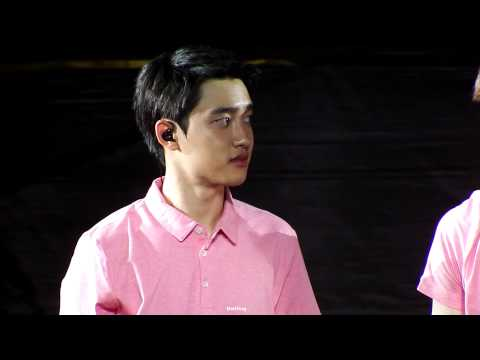 150718 The EXO'luXion in Beijing - Talking - D.O.focus