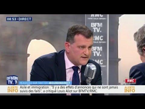 """Louis Aliot à propos de la loi Asile et Immigration: """"L'intégration n'existe pas"""""""