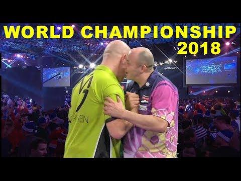 van Gerwen v Wilson (R2) 2018 World Championship Darts