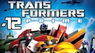 Transformers Prime: The Game - Part 12 Gameplay Commentary - Optimus Prime Vs. Megatron - Wii U HD
