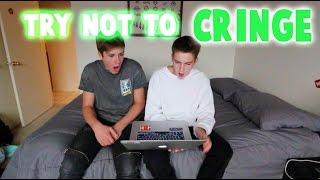 TRY NOT TO CRINGE CHALLENGE! (FEAT. BLAKE GRAY)