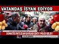 DOMATES PATLICAN KAVGASI ÇIKTI!  POLİS GELDİ !