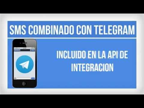 MENSAJE COMBINADO SMS TELEGRAM