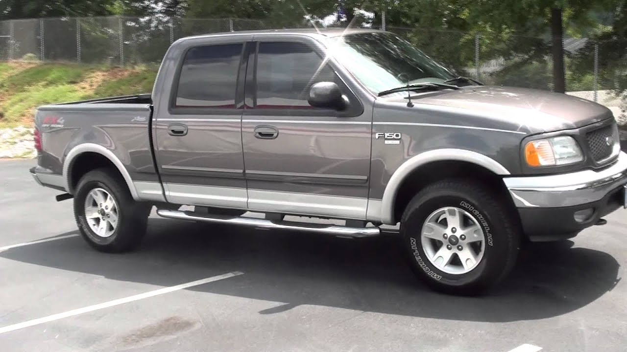 For Sale 2003 Ford F 150 Lariat Fx4 Offroad Crew Cab