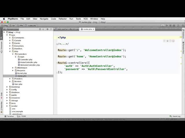 Laravel 5: Introdução ao Ambiente e MVC