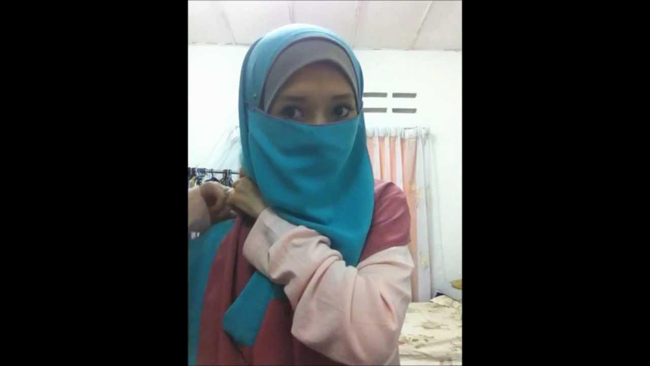 58 tutorial shawl jameela ulfah niqab purdah youtube