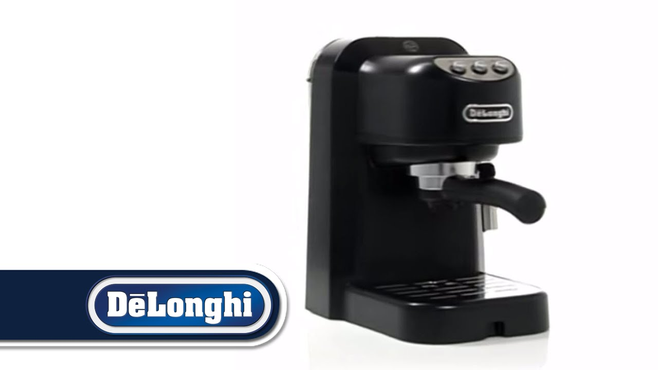 Delonghi Coffee Maker Sainsburys : De Longhi EC250 Coffee Maker.mp4 - YouTube