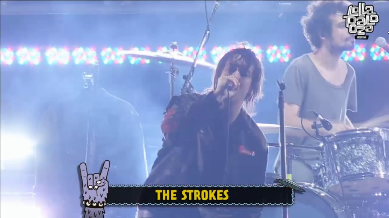 The Strokes - You Only Live Once - Lollapalooza Argentina 2017