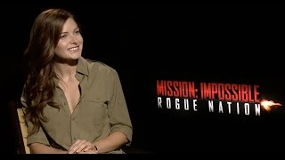 "Mission: Impossible 5: Simon Pegg and Rebecca Ferguson Play ""Would You Rather"""