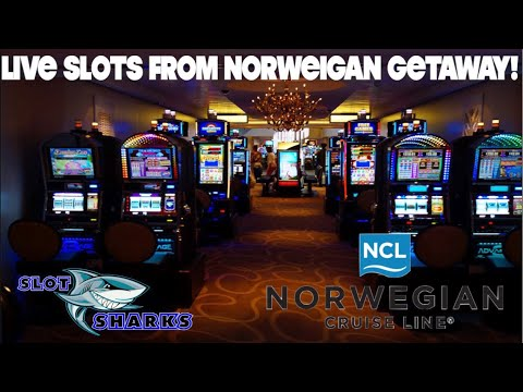 🚨 Live Monday Night Slots from Sea 🦈 Norwegian Getaway