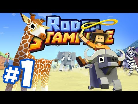 RIDE ALL THE ANIMALS!!! - Rodeo Stampede | Part 1