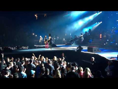 Guns N' Roses - Knockin' on Heaven's Door, T-Mobile Arena, Las Vegas, Nevada, 2017