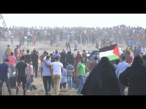 رصاص إسرائيل يصيب أكثر من 130 فلسطينيا خلال مسيرات العودة في قطاع غزة…  - نشر قبل 17 دقيقة