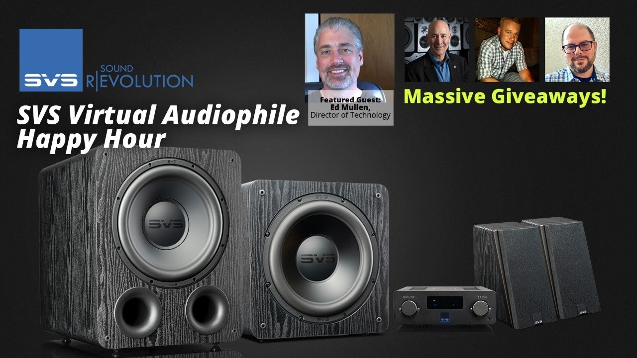 """Download SVS """"Lightning Round Q&A"""" Audiophile Happy Hour"""