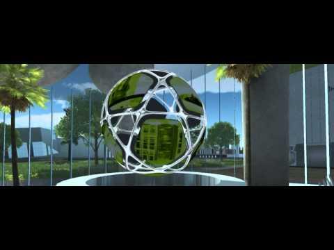 Interactive 3D model of Skolkovo Innovation Center