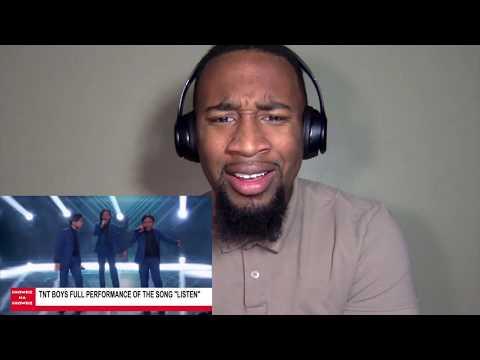 TNT BOYS Listen Worlds Best Reaction / Judges Score