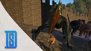 Ark Survival Evolved -Northern Tribe - Taming A Quetzalcoatlus/Giant Bird