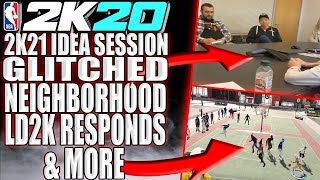 NBA 2K20 NEWS - SLIDER CHANGES! 2K HAD A NBA 2K21 IDEA SESSION! GLITCHED OUT NEIGHBORHOOD & MORE
