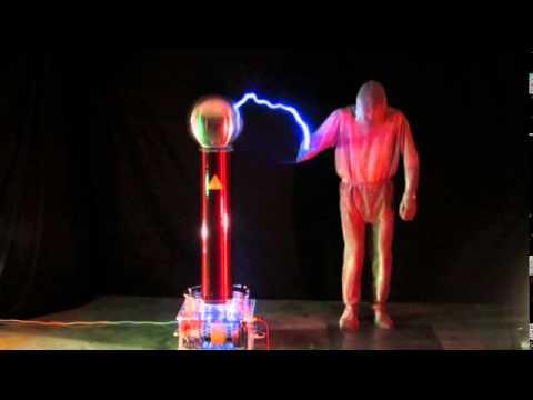 Experimente mit der tesla spule 1 blitzritter etc youtube for Spule mit geschirrspuler