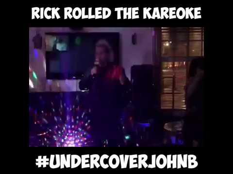 John B Rick Rolling Local Maidenhead Karaoke Night