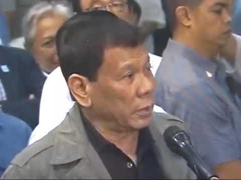 President Duterte Rebukes 'Rappler,' Reporter