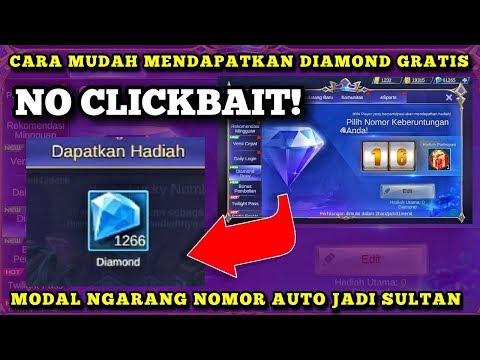 CARA MENDAPATKAN DIAMOND GRATIS - EVENT DIAMOND DRAW