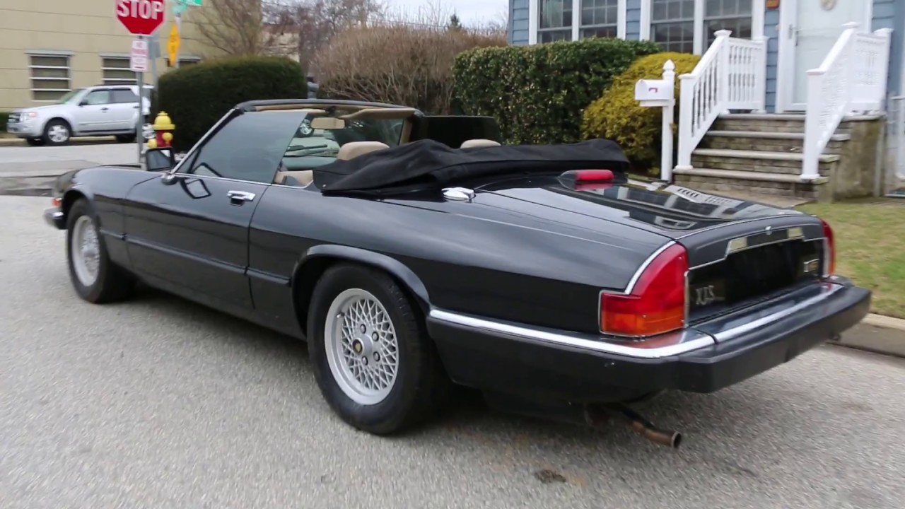 1991 Jaguar Xjs Convertible For Sale 5 3l V12 Only 75 230 Miles