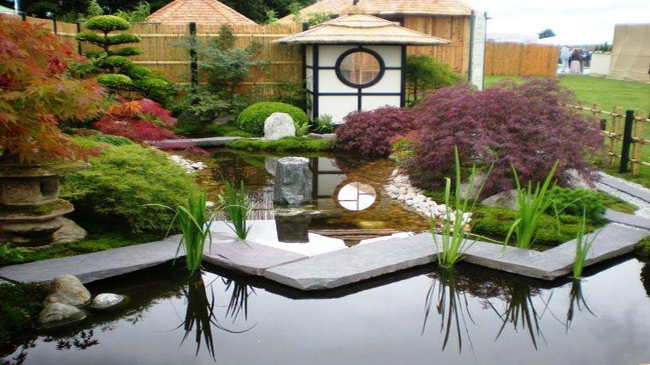 marvelous japanese zen garden design | Small Gardens Japanese Zen Garden Outdoor Ideas - YouTube
