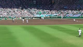 高校野球100回記念大会 広陵VS二松学舎 8裏