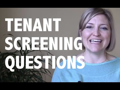 Tenant Screening Questions to Ask Before You Show Your Home