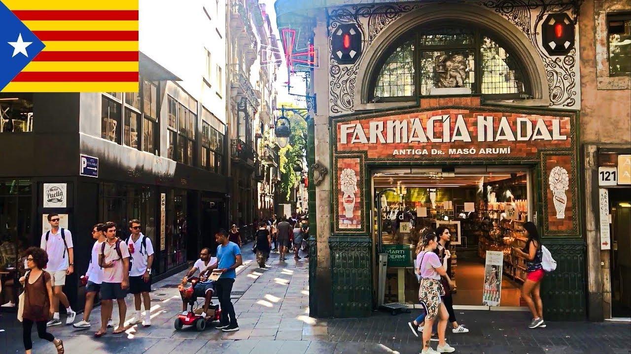 Barcelona city tour - beach, streets, impressions ...