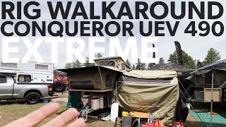 Conqueror UEV-490 Extreme Expedition Trailer Rig Walk Around