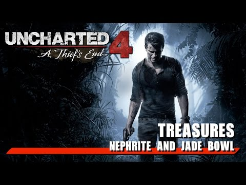 Uncharted 4: A Thief's End - Treasures - Nephrite and Jade Bowl