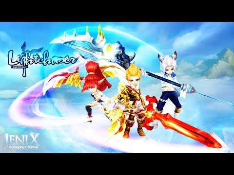 Light Chaser Gameplay / Open World MMORPG / Android / IOS / English