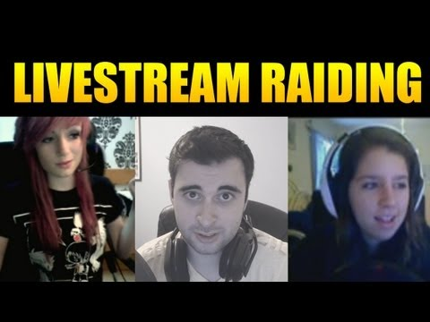 Stream Raiding on Twitch Highlights [The Best Reactions]