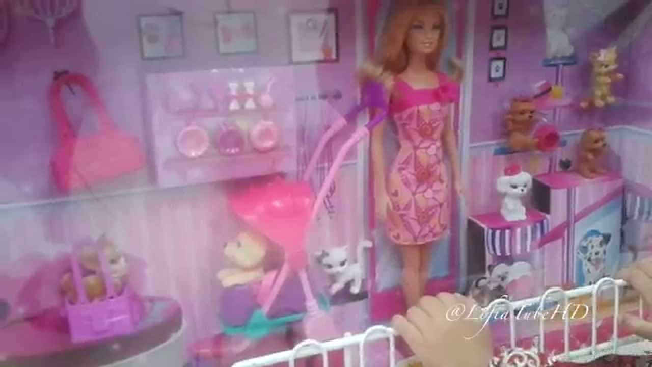 Belanja Mainan Anak Boneka Barbie Barbie Shopping Doll Mall
