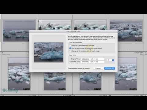 Changing a Photo's Timestamp in Lightroom