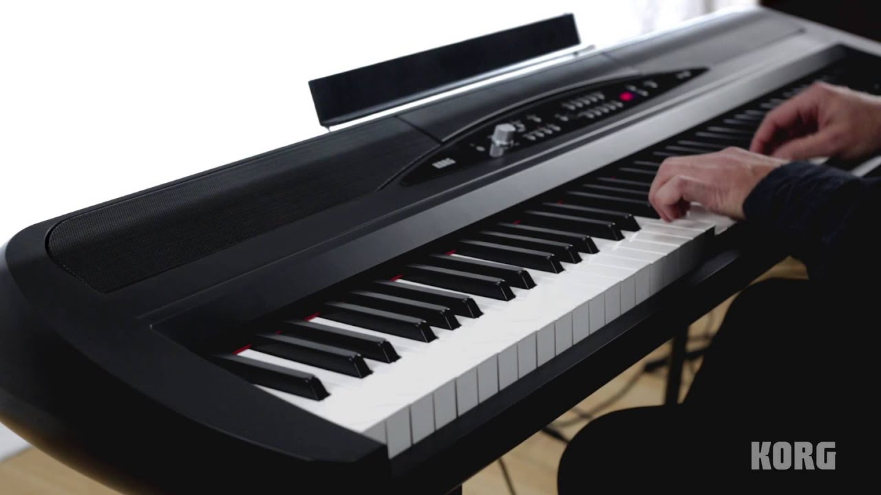 Korg Electric Piano : korg sp 280 digital piano acoustic and electric piano performance youtube ~ Vivirlamusica.com Haus und Dekorationen