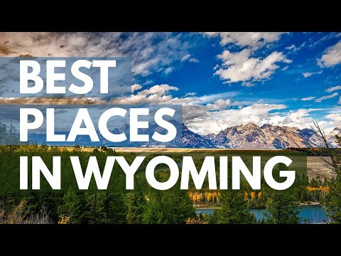 10 Best Travel Destinations in Wyoming USA