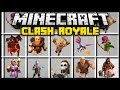Minecraft CLASH ROYALE / CLASH OF CLANS MOD (Mod Showcase)