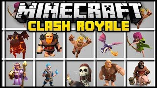 - Minecraft CLASH ROYALE CLASH OF CLANS MOD Mod Showcase